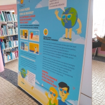 "Exhibition Panels - ""Cigarette Butts"" for Environmental Education"
