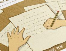 """Book Cover – """"O Lugar da Escrita"""""""